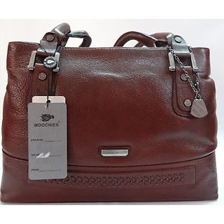 Moochies women leather Bag's colur Brown
