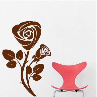 Decor Villa Wall Sticker ( Rose ,Surface Covering Area 20 x 30 Inch)