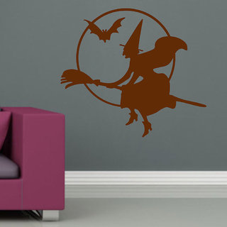 Decor Villa Wall Sticker ( The Witch ,Surface Covering Area 19 x 17 Inch)