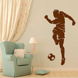 Decor Villa Wall Sticker (Hard Kick ,Surface Covering Area 17 x 31 Inch)