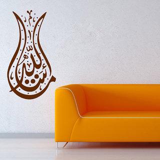 Decor Villa Wall Sticker (Religious ,Surface Covering Area 23 x 42 Inch)