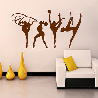 Decor Villa Wall Sticker (My practice time ,Surface Covering Area 23 x 23 Inch)