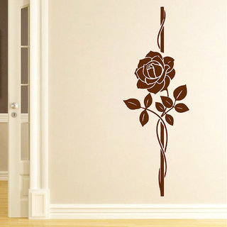 Decor Villa Wall Sticker (Bueaty Rose ,Surface Covering Area 23 x 66 Inch)