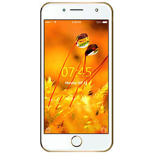 Ikall K1 5 inch 1 GB RAM & 8 GB Smart Phone - Gold