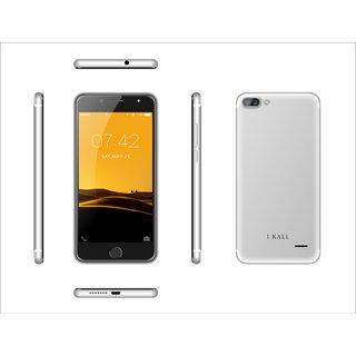 Ikall K1 5 Inch 1 GB RAM  8 GB Smart Phone  (Silver)