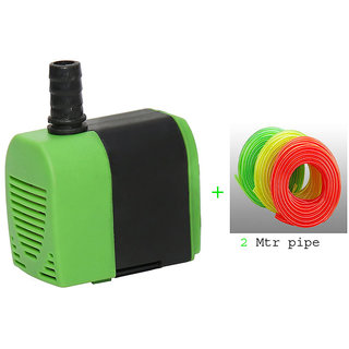 Submersible Pump Aquarium Fountain Air Cooler With 2 Mtr. Pipe