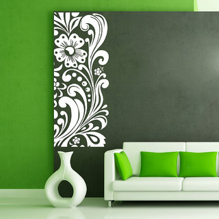 Decor Villa Wall Sticker ( Side Border ,Surface Covering Area 17 x 42 Inch)