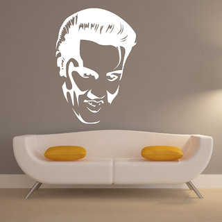 Decor Villa Wall Sticker (Man Looking Good ,Surface Covering Area 17 x 25 Inch)