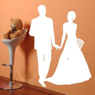 Decor Villa Wall Sticker (Love Couple ,Surface Covering Area 23 x 30 Inch)