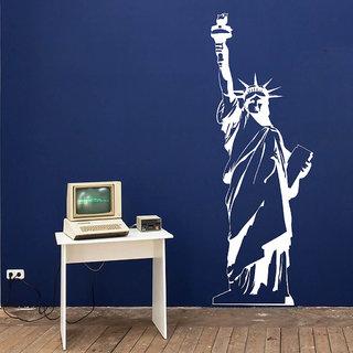 Decor Villa Wall Sticker (Statue Of Liberty ,Surface Covering Area 21 x 60 Inch)