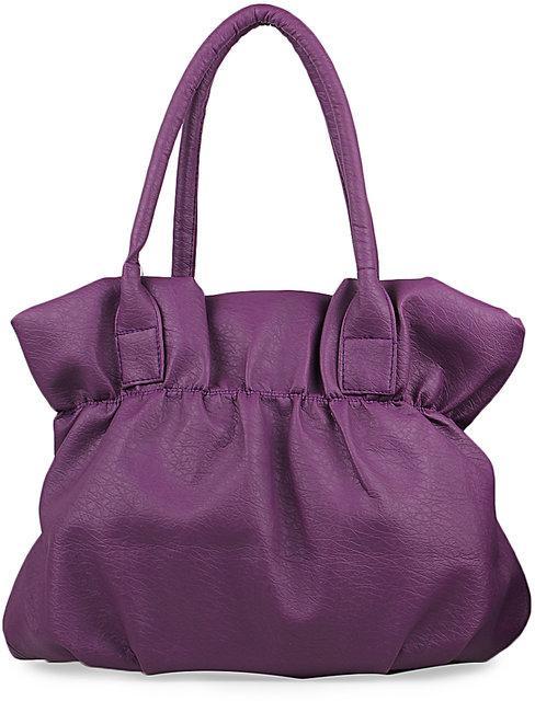 24adb2a4491 Goldmine Designer Handbag For Girls and Women's Party Wear (Purple Color)