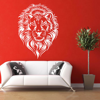 Decor Villa Wall Sticker (Big Lion ,Surface Covering Area 20 x 27 Inch)