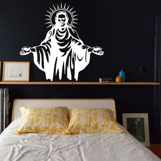 Decor Villa Wall Sticker (Jesus ,Surface Covering Area 16 x 14 Inch)
