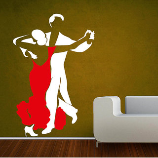 Decor Villa Wall Sticker ( Let's DanceWall ,Surface Covering Area 20 x 30 Inch)
