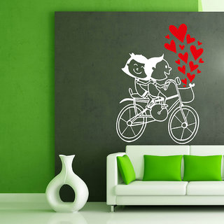 Decor Villa Wall Sticker (My First Girlfriend ,Surface Covering Area 17 x 24 Inch)