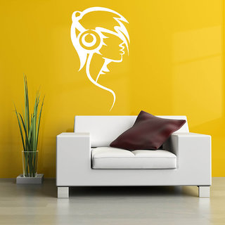 Decor Villa Wall Sticker (Let's play the music ,Surface Covering Area 23 x 42 Inch)