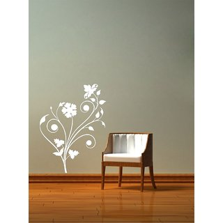 Decor Villa Wall Sticker (flower 4 ,Surface Covering Area 23 x 31 Inch)