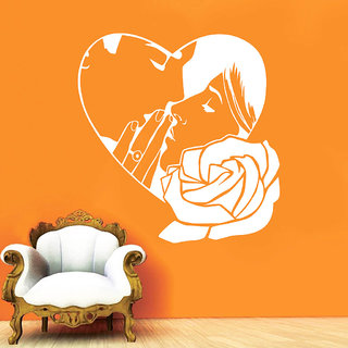 Decor Villa Wall Sticker (Kiss me ,Surface Covering Area 17 x 17 Inch)