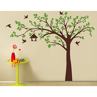 Decor Villa Wall Sticker (tree,Surface Covering Area 47 x 61 Inch)