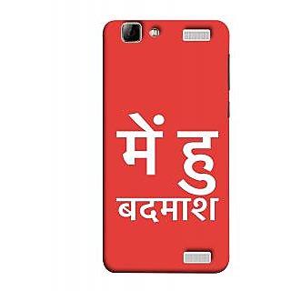 FUSON Designer Back Case Cover for Vivo V1 Max (I Am Bad And Don Hindi English India Mumbai)