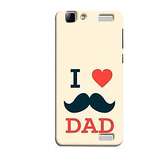 FUSON Designer Back Case Cover for Vivo V1 Max (Dad Day Family Mom Life Long Fathers Day)