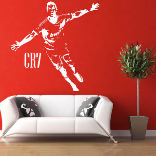 Decor Villa Wall Sticker ( CR7 ,Surface Covering Area 20 x 24 Inch)