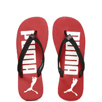 Puma Men's Black & Red Flip Flops