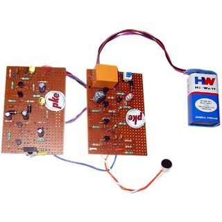 pke 2 in 1 Clap Swith - Sound Control and Remote Control Circuit Project