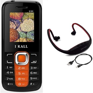 IKall K99  1.8 InchDual Sim (No Earphones) Made in India with Neckband
