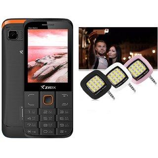 Combo Of Ziox Starz  Basic Phone  ShutterBugs USB Selfi