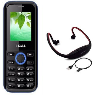 IKall K18  1.8 InchDual Sim (No Earphones) Made in India with Neckband