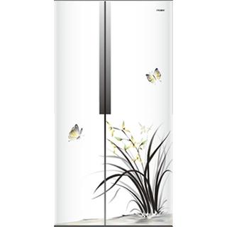 Haier Hrf-618Ic-Mushy Side by Side Frost Free Refrigerator