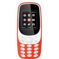 IKall K3310 Red  1.8 InchDual Sim Bis Certified Made In India Battery Saver  (No Earphones) Feature