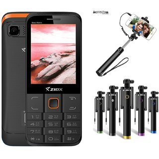 Combo Of Ziox Starz  Basic Phone  ShutterBugs Selfie St