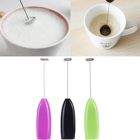 Skys  Ray Mini Handy Coffee Milk Drink Electronic Mixer Stirrer Egg Beater Mixer Stirrer Milk Frother Kitchen Cooking