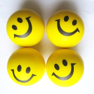 smiley stress ball (12pcs pack)
