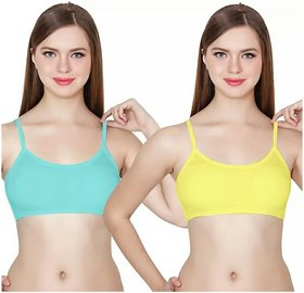 Bm fashion pack of 2 sports bra ( color may very )