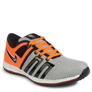 Inure GREYORANGE Sports Shoe For Men Art No-1123