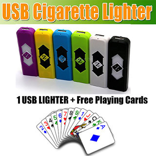 Playing Cards With Free Cigarette Lighter CodedJ-5635