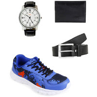 Lotto Portlane Subli Blue Running Sport Shoes With Belt
