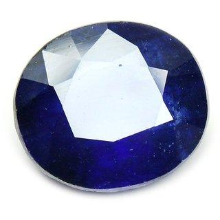 Blue sapphire Neelam Natural Certified Original Unheated Gemstone Certified Pukhraj Natural 5.60 cts