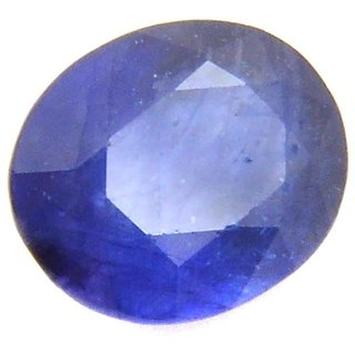 Blue sapphire Neelam Natural Certified Original Unheated Gemstone Natural Oval Certified  4.60 Carat