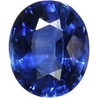 Blue Sapphire Gemstone Certified  Neelam Loose Natural Certified Precious Stone  8.1 Carat