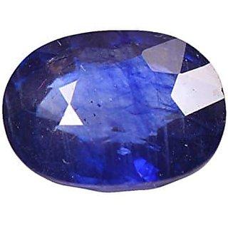 Blue Sapphire Gemstone Certified  Neelam Loose Natural Certified Precious Stone  6.4 Carat