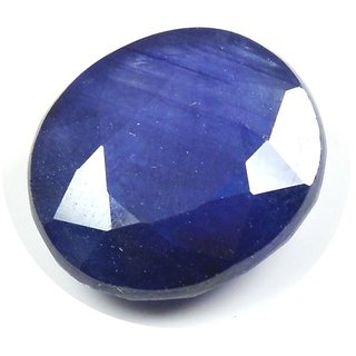 Blue Sapphire Gemstone Certified  Neelam Loose Natural Certified Precious Stone  6.9 Carat