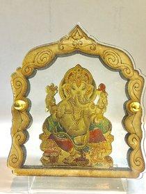 Relisales Premium Quality Hindu God Ganpati Bappa dashboard idol for Renault Kwid