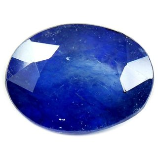 Blue Sapphire (Neelam) Precious Loose Gemstone Top Quality Pukhraj Stone Original Oval Shape Gemstone...