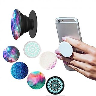 Pop Socket with Pop clip mount for Car, Car Mobile Holder- Universal moile holder