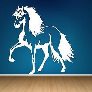Decor Villa Wall Sticker (Horse ,Surface Covering Area 23 x 25 Inch)