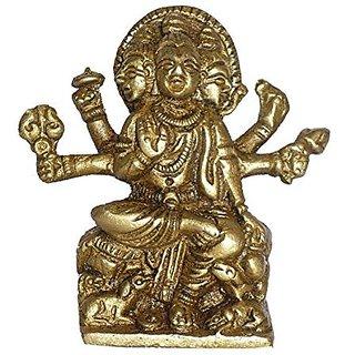 Brass Metal Datta Tray Sitting Statue By Bharat Haat BH01483
